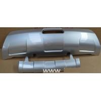 Накладка заднего и переднего бампера Nissan Qashqai J10 2006-09
