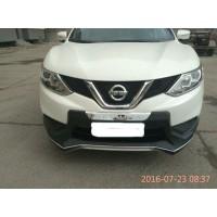 Накладка заднего и переднего бампера Nissan Qashqai J11 2014-16